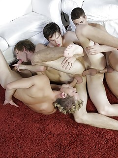 Gay Group Sex Porn